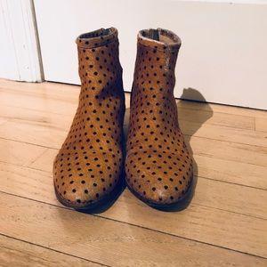 Loeffler Randall Calf Hair Spotted Boots